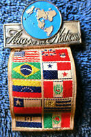 Flags of the Nations Boy Scout Medal 205B