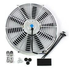 14 Inch Thermo Fan Electric Fan Chrome Straight Blade