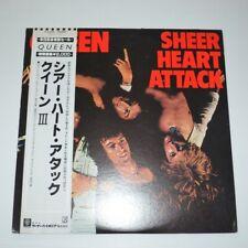 QUEEN - SHEER HEART ATTACK - 1977 JAPAN LP VINYL