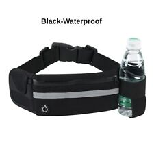 Sports Waist Bag Waterproof Running Jogging Hiking Water Bottle Cage Waist Bag