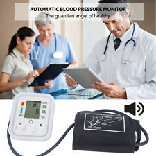 Digital Automatic Wrist Blood Pressure Monitor Machine Home Medical With Vioce