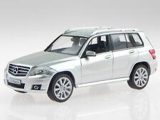 Mercedes X204 GLK iridium silver diecast model car Schuco 1/43
