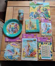 Kids Birthday Party Accessories *NEW* Animal Jam Design 8 packs 49 items!!