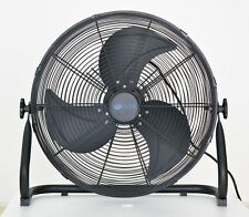 "20"" Cyclone High Velocity Floor Fan - Solid Steel - Free Next Day Delivery"