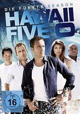 HAWAII FIVE-O-SEASON 5 (Alex O'Loughlin, Scott Caan) 6 DVD NEU