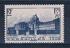 TIMBRE FRANCE NEUF  N° 379 ** CHATEAU DE VERSAILLES COUR D HONNEUR
