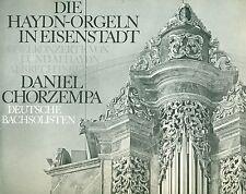 DIE HAYDN-ORGELN EISENSTADT DANIEL CHORZEMPA DEUTSCHE BACHSOLISTEN 2-LPs (L7960)