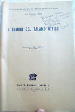 1930 LIBRO AUTOGRAFO MEDICO POLACCO ISIDORO IMBER DA IEZIERNA 'TALAMO OTTICO'