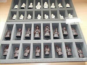 NEW (Other) Berkeley BC 2004 Egyptian Chess Set Russett - RRP £150