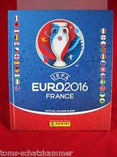 Panini Euro 2016 Hardcover Album Dt. Edition EM 16 Frankreich France Leeralbum