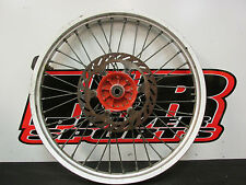 """1992 Suzuki RM125 21"""" Front Wheel, Front Rim, Hub, OEM, 92 RM 125 HR1219"""