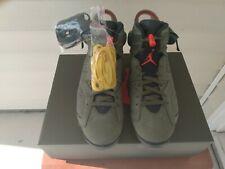 Travis Scott X Air Jordan 6.  Size 11.5
