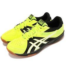 Asics Court Break Yellow White Gum Men Badminton Volleyball Shoes 1071A00-3750