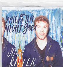 Josh Ritter-Where The Night Goes Promo cd single