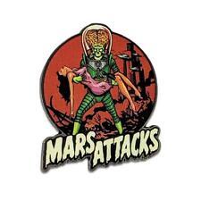 Mars Attacks Alien Victim Enamel Pin Tim Burton Horror Sci Fi Comedy Movie Gift