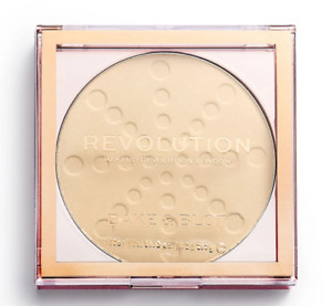 Makeup Revolution ❤️ BAKE & BLOT Setting Powder BANANA LIGHT - Free Shipping