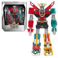 "Super7 Voltron Ultimates Classic Chrome Toy Deco 7"" Action Figure NIB - In Stock"