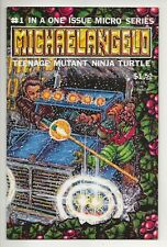 MICHAELANGELO #1 VF/NM In A One Issue Micro Series TMNT (Mirage Comics, 1996)