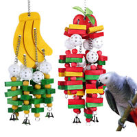 Parrot Cage Bite Toys African Grey Macaws Cockatoos Eclectus Bird Chewing Toy