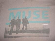 2010  Muse-The Resistance Tour-Concert Band Tour-Tan-T Shirt-M