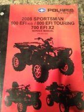 2008 Polaris Sportsman 800 EFI/800 EFT Touring 700 EFIx2 Manual  PN: 9921323
