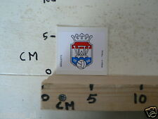 STICKER,DECAL WILLEM 2 TILBURG WRIGLEY'S VOETBAL SOCCER A