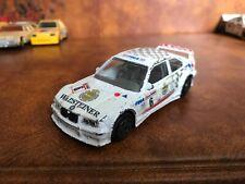 BURAGO BMW M3 E36 White Schnitzer Warsteiner Touring Car 1:43 Scale