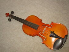 Very nice flamed old   Violin violon, lined and full blocked