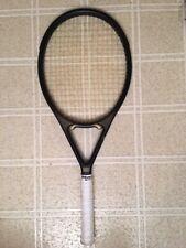 "Spalding Arista Straiht Throat Beam Tennis Racquet 100 sq 4 1/2"""