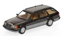 Minichamps 1990 Mercedes 320 TE Class T Model Black 1:43 NICE***