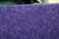 100 % Cotton fabric ~  Purple marble ~ BTY