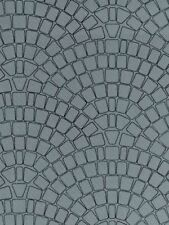 Vollmer kit 47373 NEW N COBBLE PAVEMENT EMBOSSED CARD SHEET 250X125MM