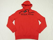 $59 NWT Mens Sean John Embroidered Pullover Hoodie Sweatshirt Urban Size L M970