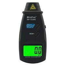 Laser Umdrehungsmesser HP-7236C Tachometer Drehzahlmesser Kontaktmessung