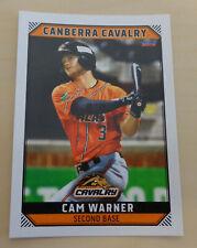 Cam Warner 2018/19 Australian Baseball League card - Canberra Cavalry