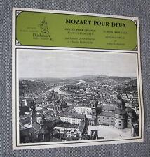 MOZART Piano Duo Kv 448 DUQUENNOIS & DOPPAGNE / DUCHESNE 6010 NOS Shipping 7.8$