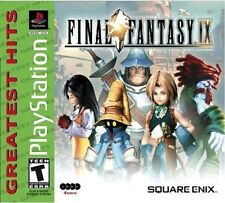 Final Fantasy IX [PlayStation 1 PS1, FF 9, Classic Turn-based JRPG] NEW