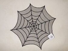 """YANKEE CANDLE  SPIDER WEB DOILEY 20"""" ROUND NWT RETIRED VERY RARE"""