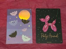 New listing Simply Gilded Purple Bats And Black Party Animal Journal Cards New