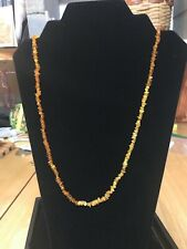Honey Baltic Amber Chip Endless Necklace