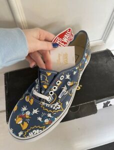 Limited Edition Disney Donald Duck Vans size UK 8 NEW IN BOX