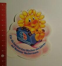 Aufkleber/Sticker: Neckermann Reisen kostbarsten Wochen des Jahres (160716104)