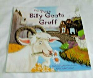 The Three Billy Goats Gruff Retold by Nat Lambert kids book