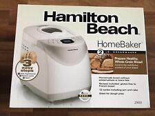 New Hamilton Beach 2lb Automatic Digital Bread Maker Machine Model #29881