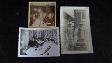 Original 3 Photos Ghost Orbs Ectoplasm Men Women Child Photograph Ghost Writing