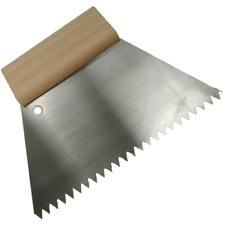 "Floor Tiling Adhesive Glue Serrated Spreader Comb Trowel 7"" 180mm V Style"