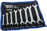 Doppel Maulschlüssel Satz 8-tlg. Gabelschlüssel Werkzeug Set Schraubenschlüssel