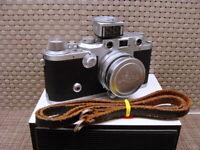 "Leitz Wetzlar - Leica IIIf Summitar 2/5cm ""1a Zustand/ CLA serviced"" - TOP"
