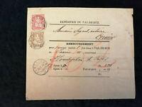 Schweiz - Brief Stück Stempel 1879 Fontaines Sitzende Helvetia 2 +10 C   Nr.9