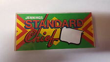 JENNINGS EARLY REPO PLASTIC GLASS STANDARD CHIEF BLANK TOP MARQUEE NO DENOMINATN